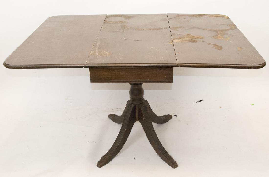Antique Drop Leaf Dining Table