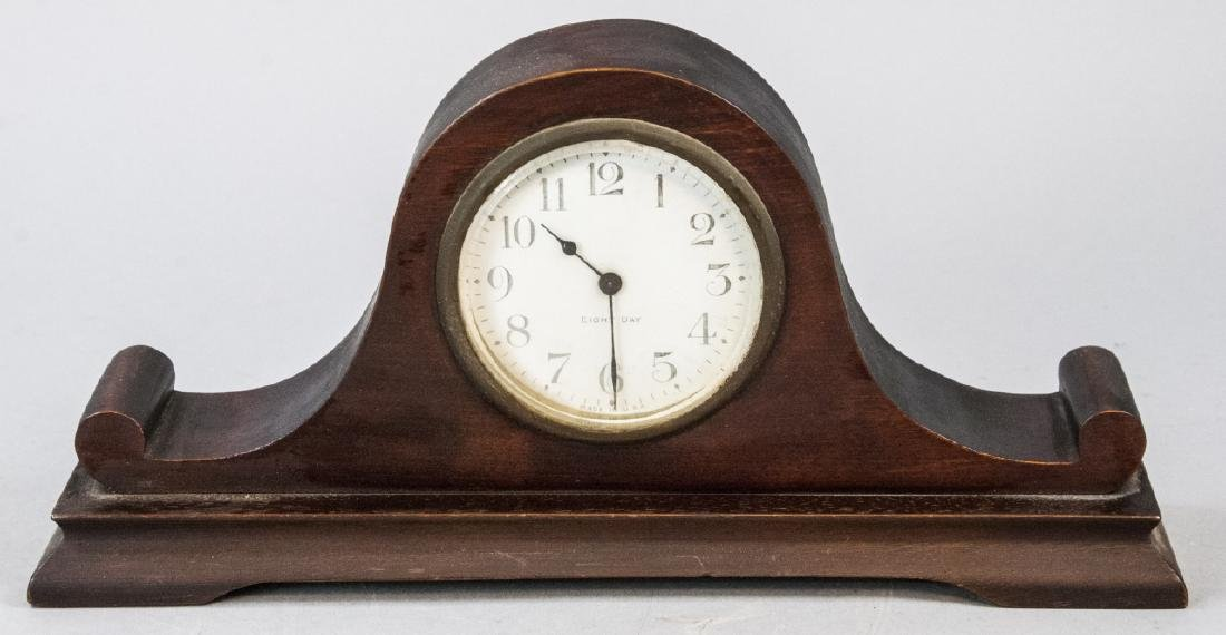 Antique Eight Day Mantle Clock with Winding Key