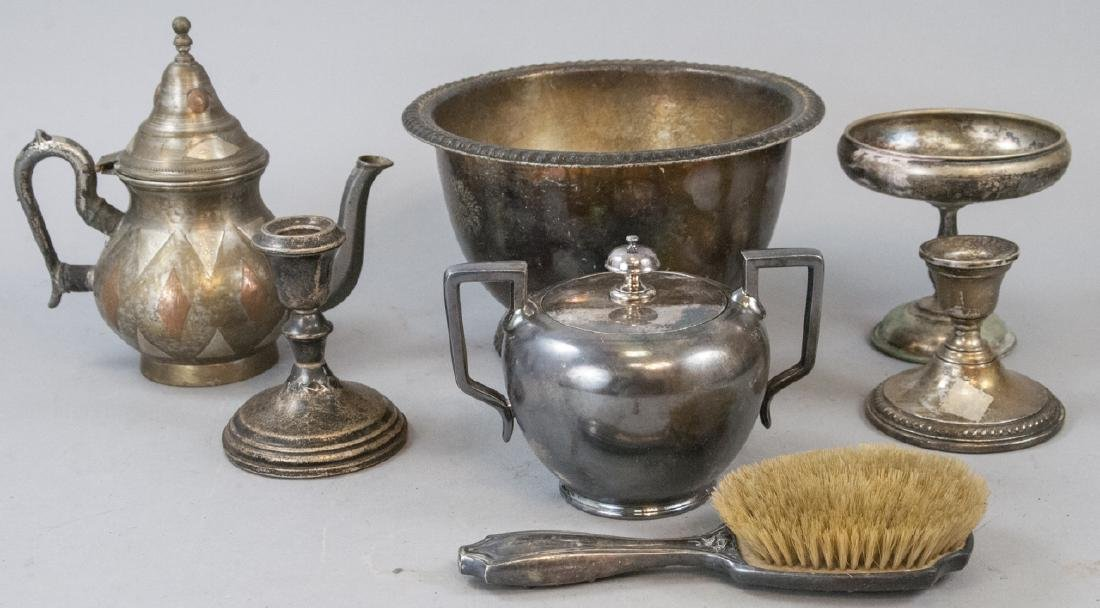 Antique Silver Plated Home Items