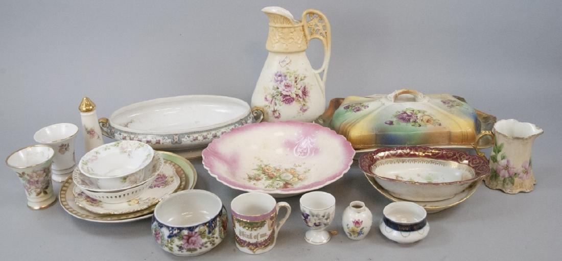 Boxed Lot of Vintage Bavarian German Porcelain