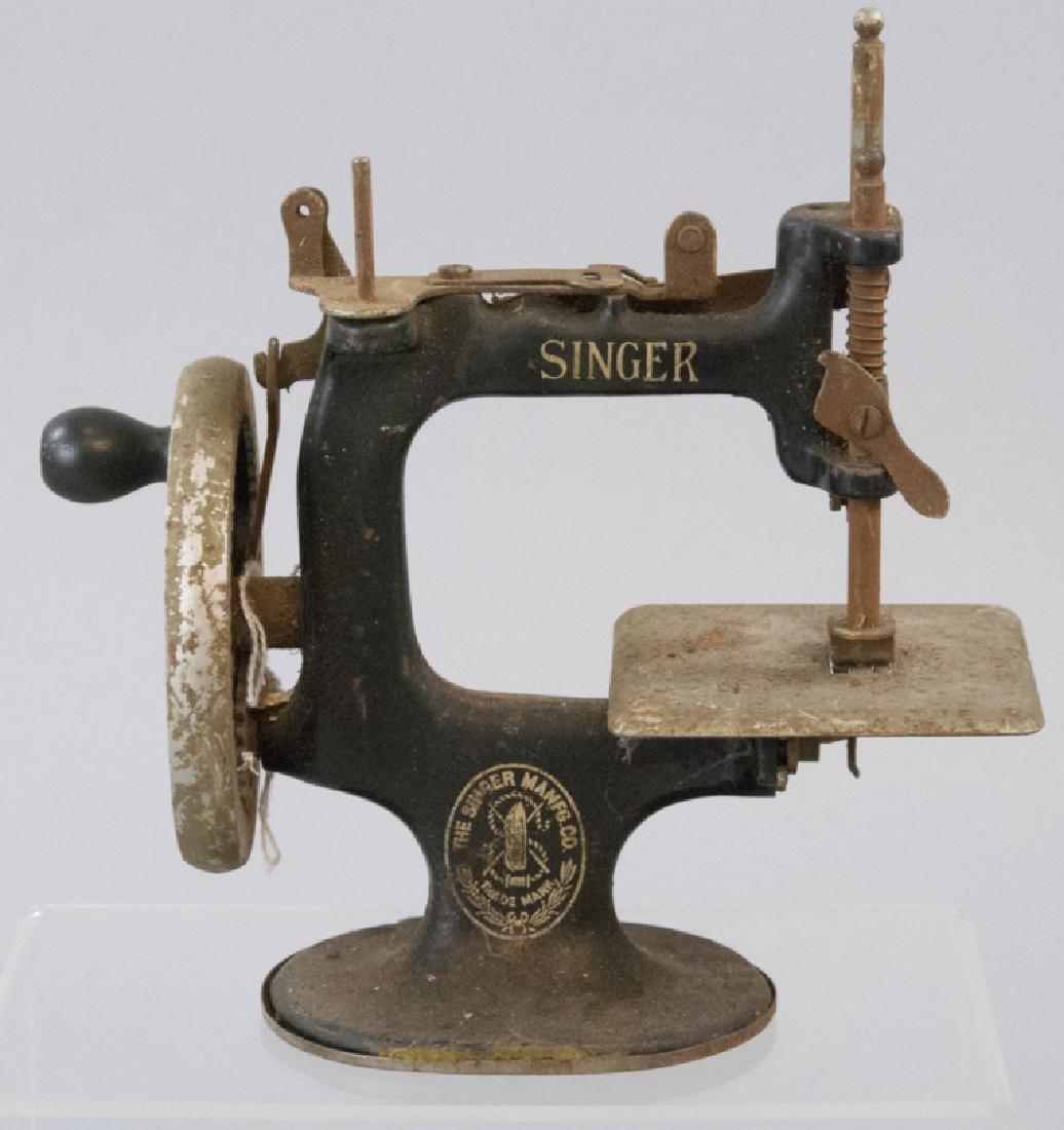 Antique 1920's Singer Child Size Sewing Machine