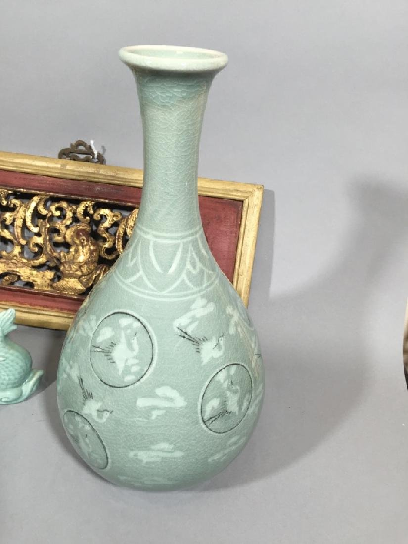 Collection of Chinese Celadon Porcelain Items - 2