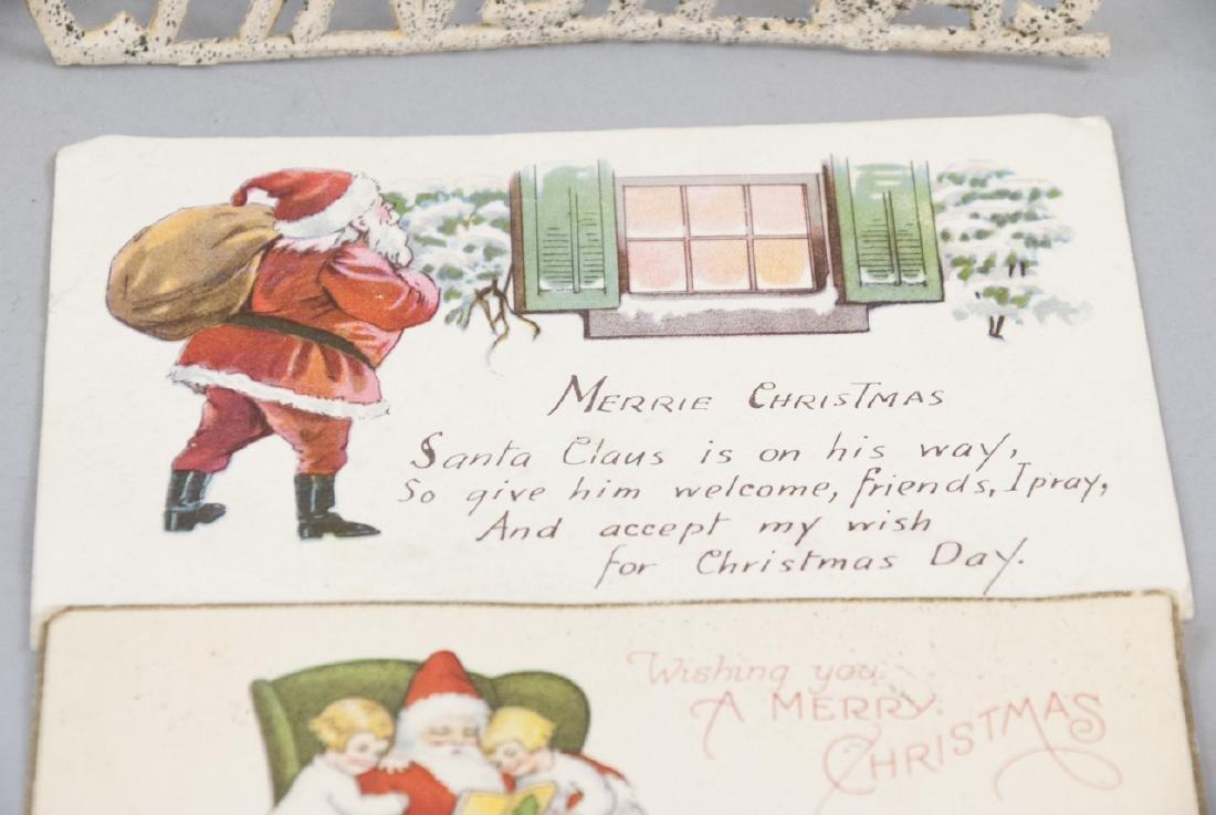 Vintage Cardboard Pressed Holiday Decor - 3