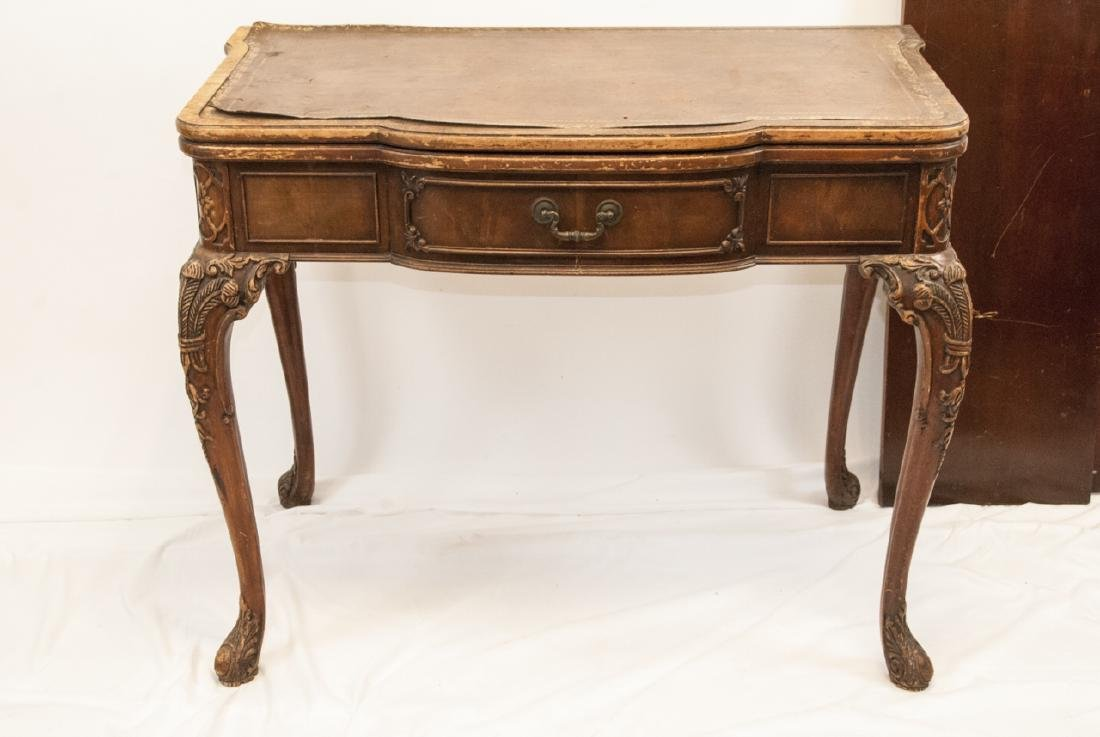 Antique Chippendale Style Console or Dining Table - 7
