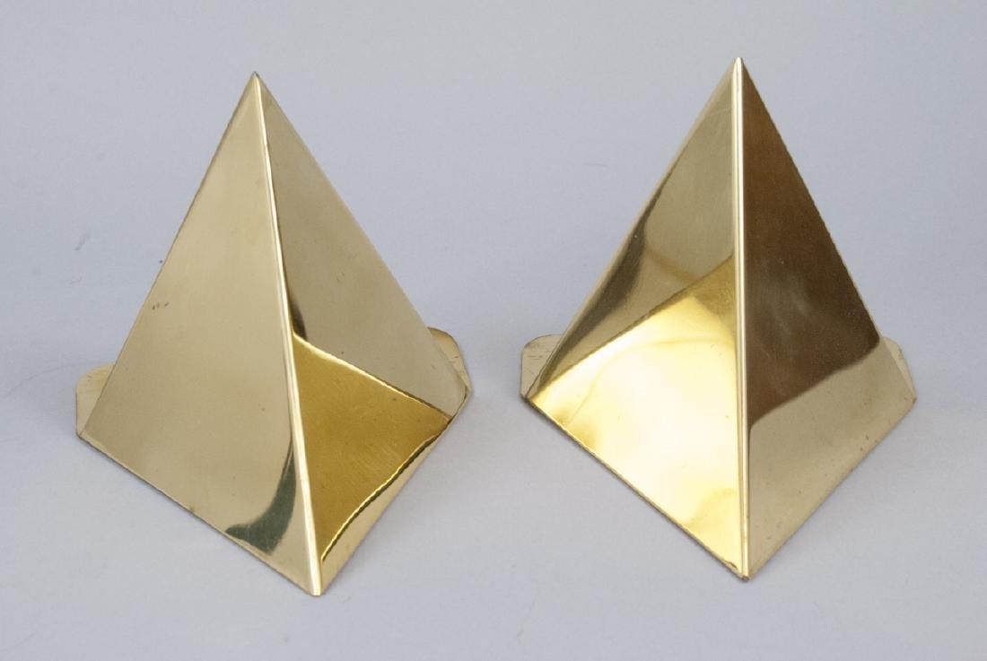 Vintage Gilt Brass Book Ends & Armillary Sphere - 4