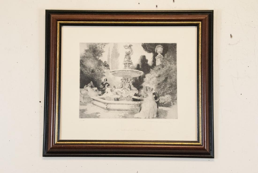 Norman Alfred William Lindsay Framed Print