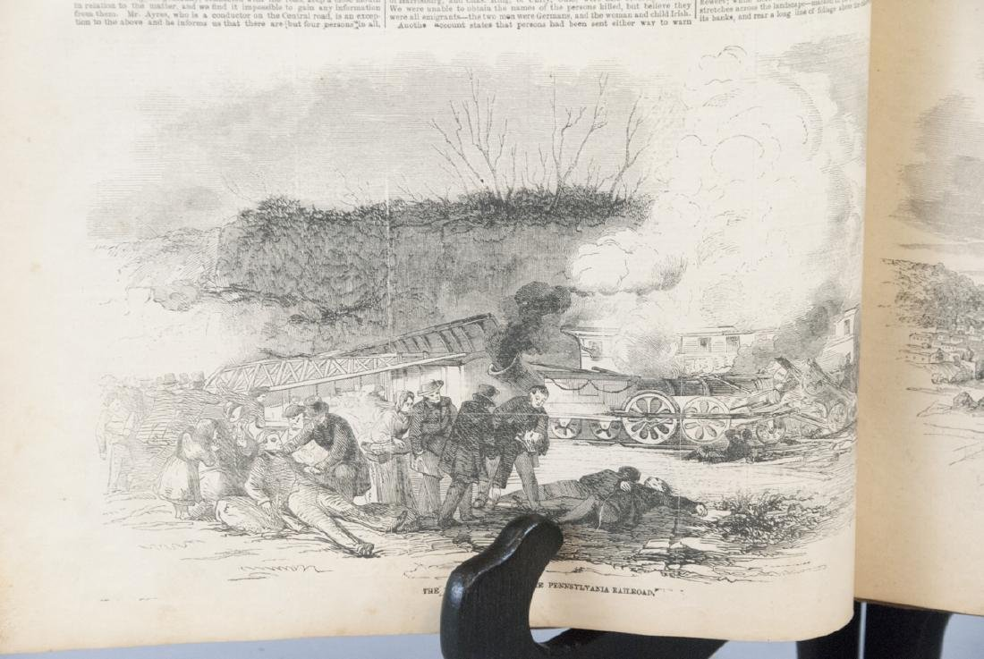 The Illustrated News Jan to July 1853 19th C Book - 10