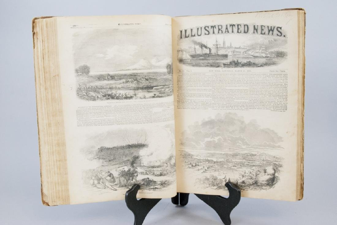 The Illustrated News Jan to July 1853 19th C Book
