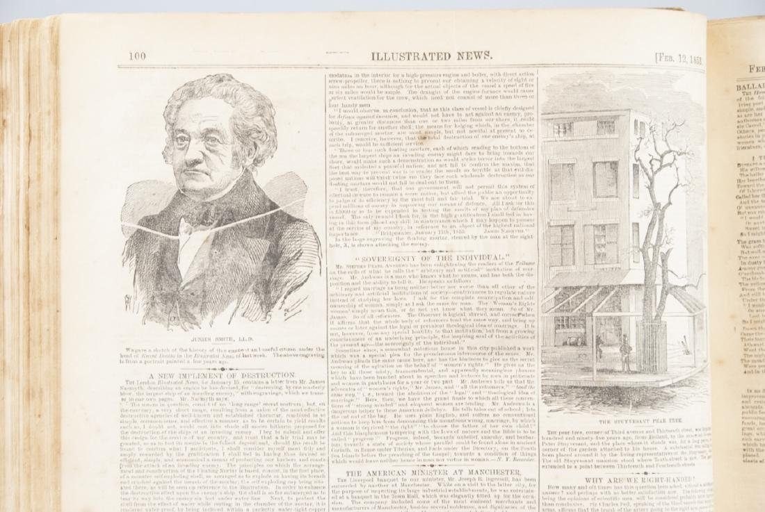 The Illustrated News Jan to July 1853 19th C Book - 2