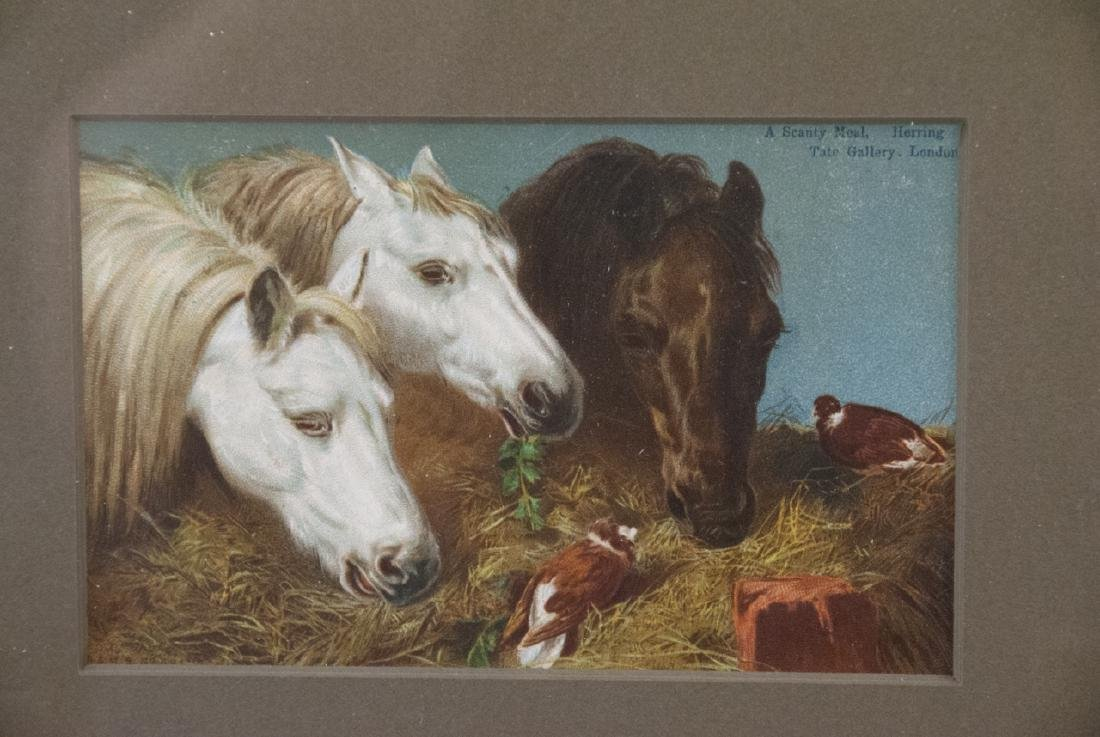 Two Artworks by Bourbeau & Vintage Horse Print - 5