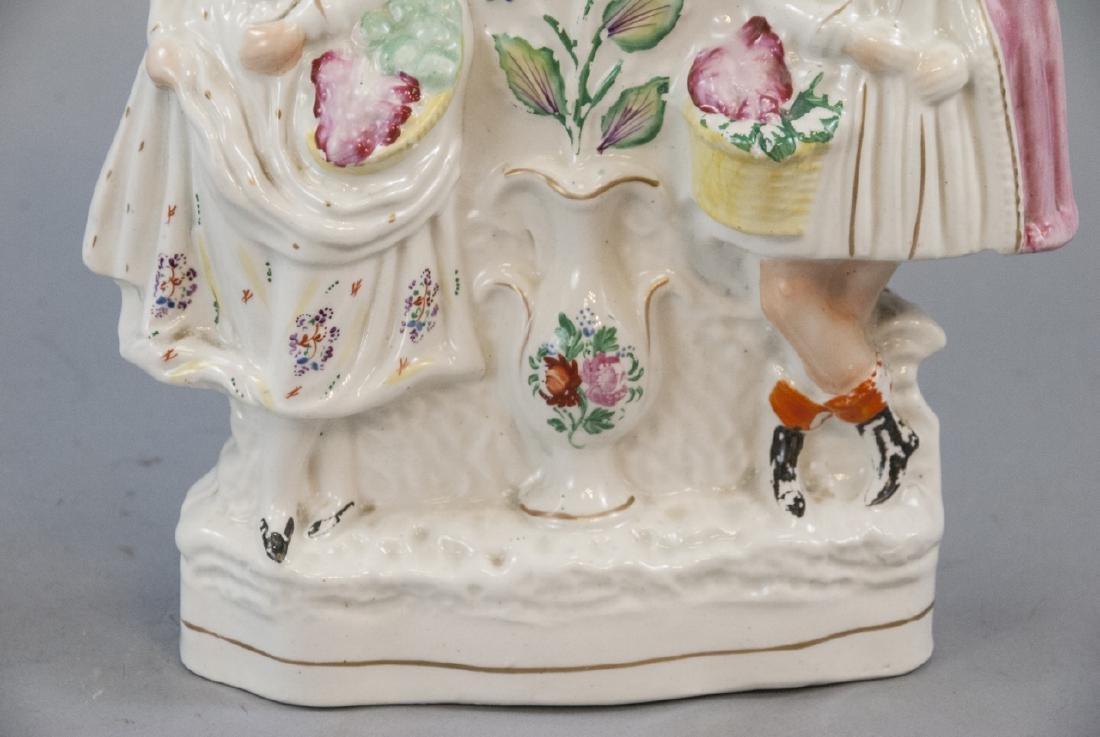 Antique 19th C English Staffordshire Porcelain - 6