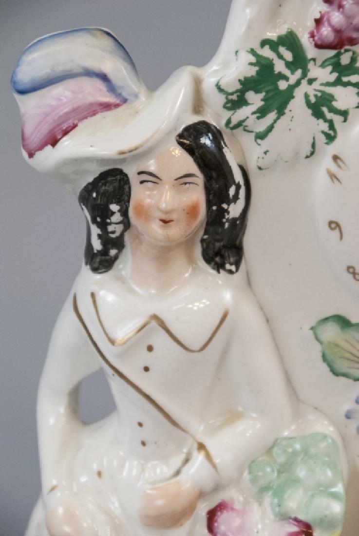 Antique 19th C English Staffordshire Porcelain - 7