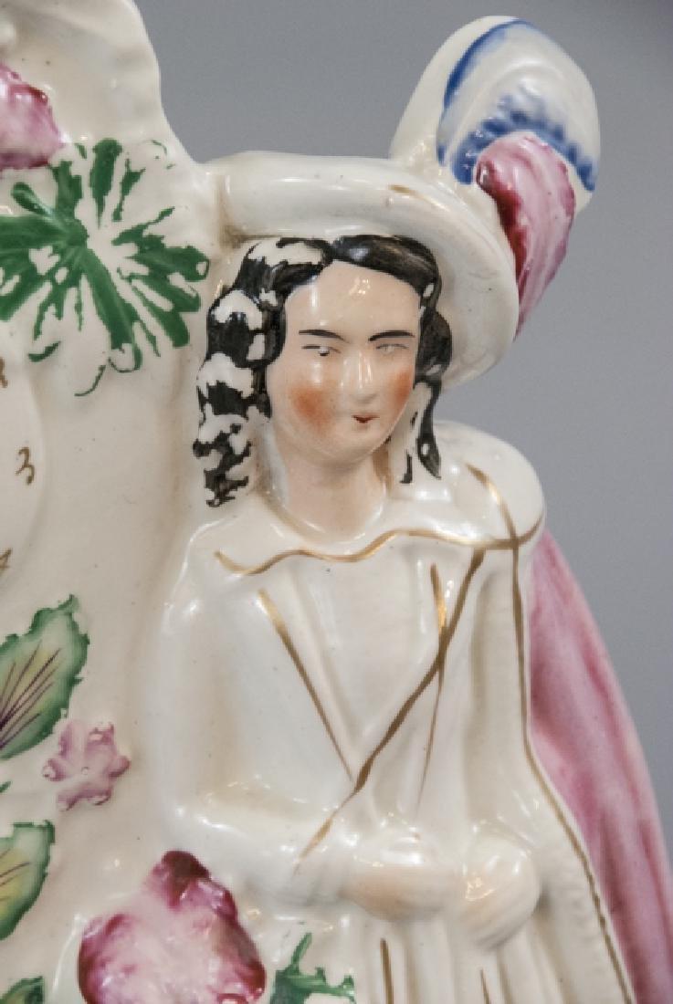 Antique 19th C English Staffordshire Porcelain - 8