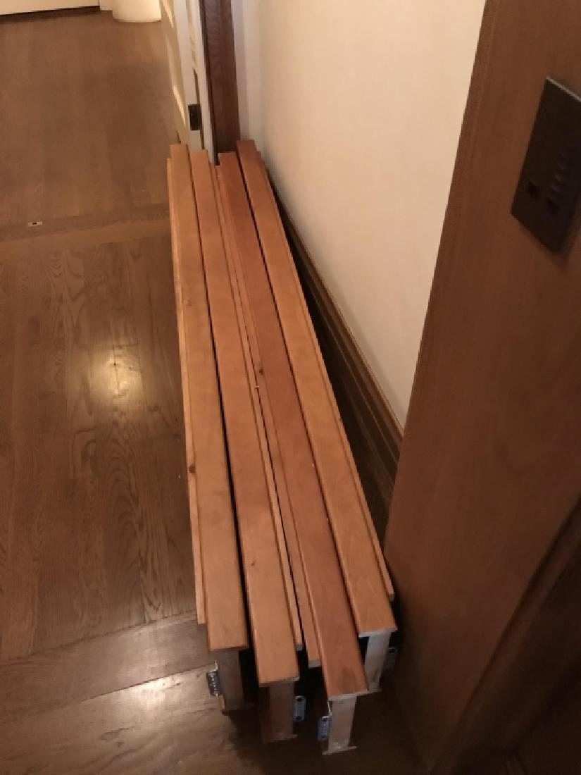 Pair of Contemporary Twin Size Bed Frames - 2