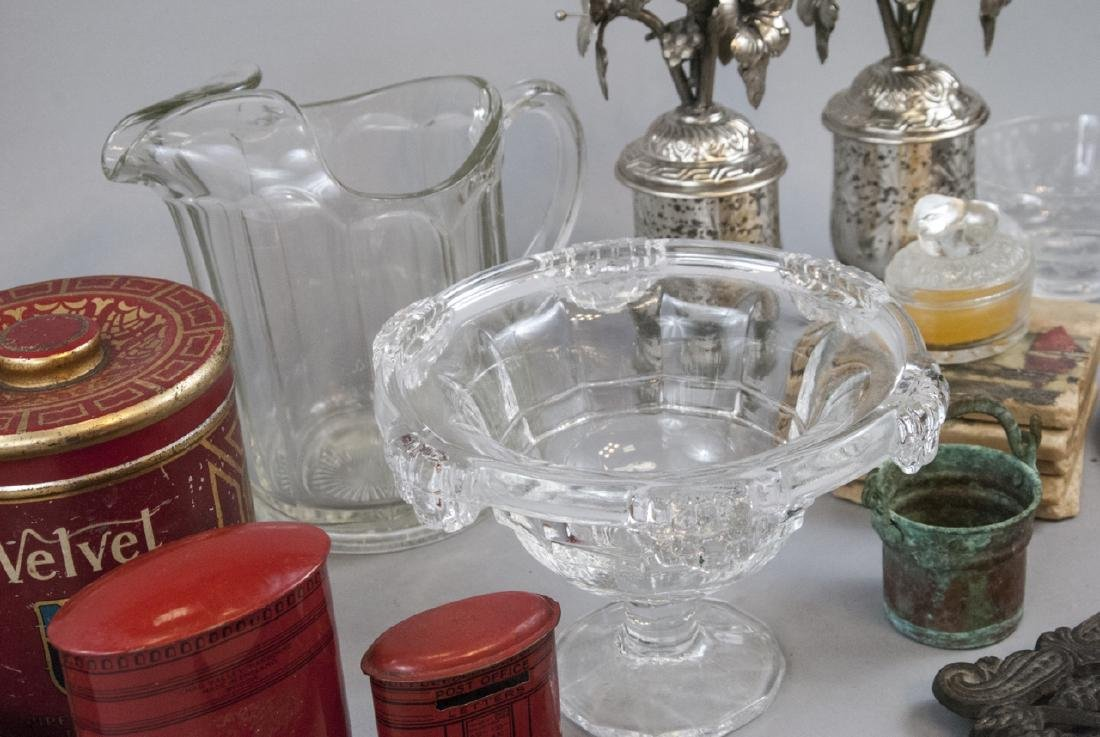 Collection of Antique & Vintage Glass Ware, etc - 5