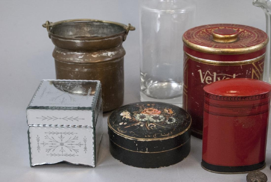 Collection of Antique & Vintage Glass Ware, etc - 6