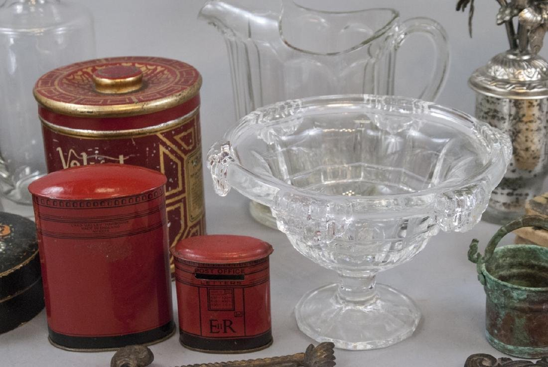 Collection of Antique & Vintage Glass Ware, etc - 8