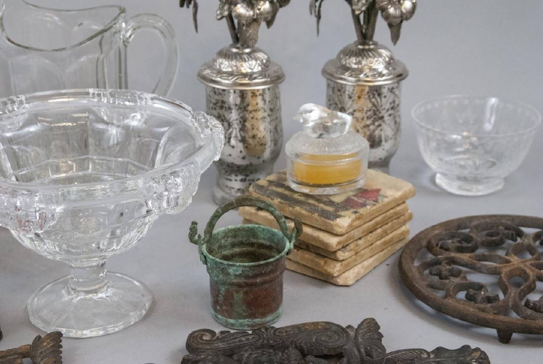 Collection of Antique & Vintage Glass Ware, etc - 9