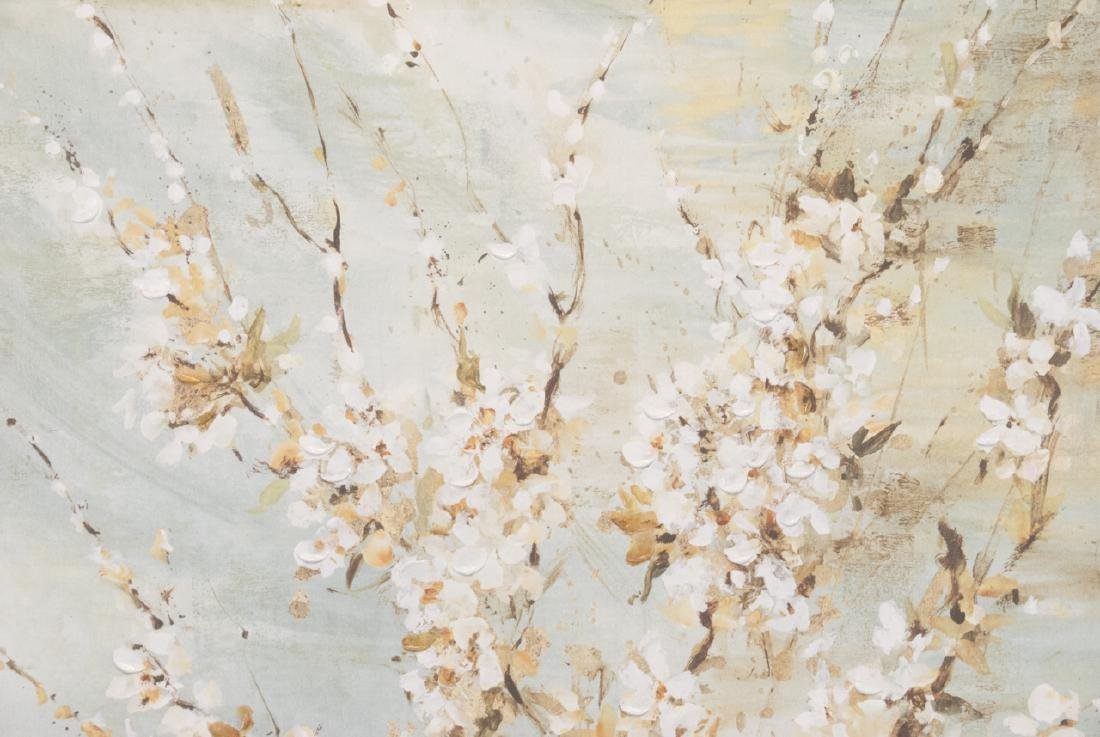 Oil On Canvas Blossom Painting - 3