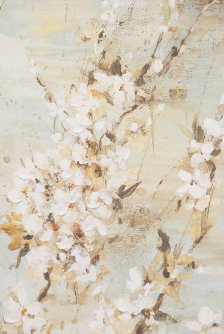 Oil On Canvas Blossom Painting - 4