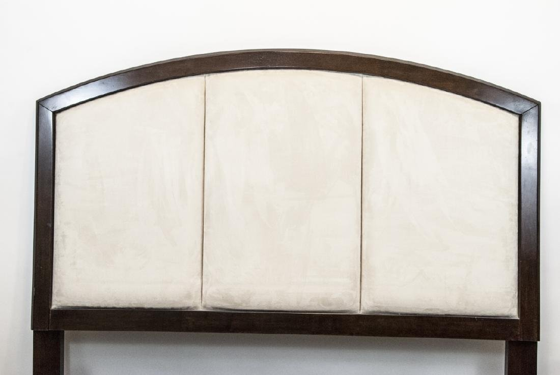 Queen Sized Ashley Upholstered Headboard & Frame - 2