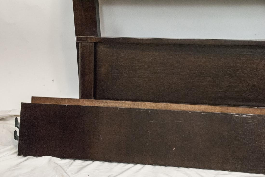 Queen Sized Ashley Upholstered Headboard & Frame - 3