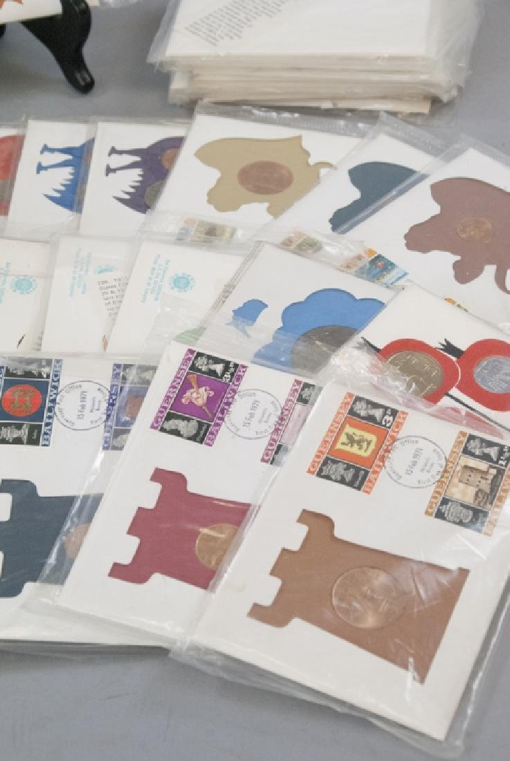Large Collection Vintage Foreign Currency / Stamps - 5