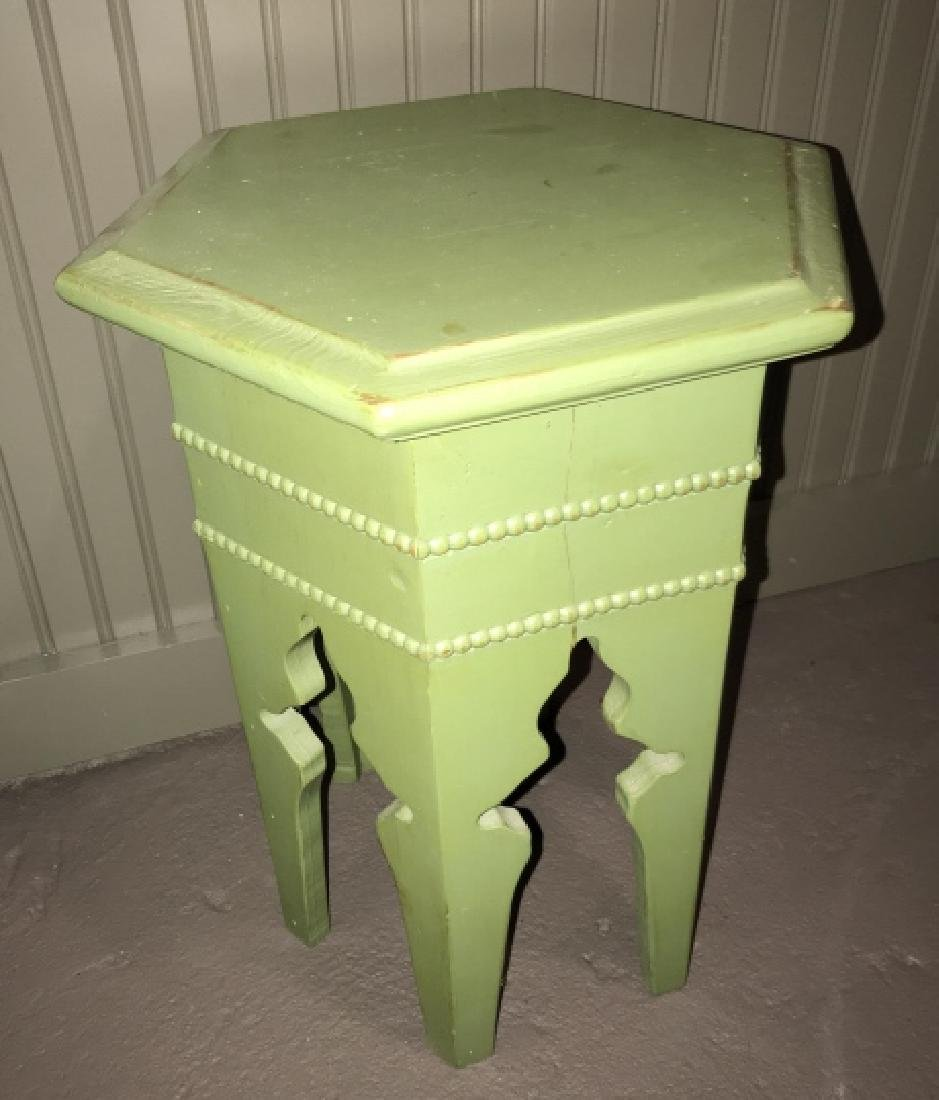 Moroccan / Moorish Style Hand Painted End Table