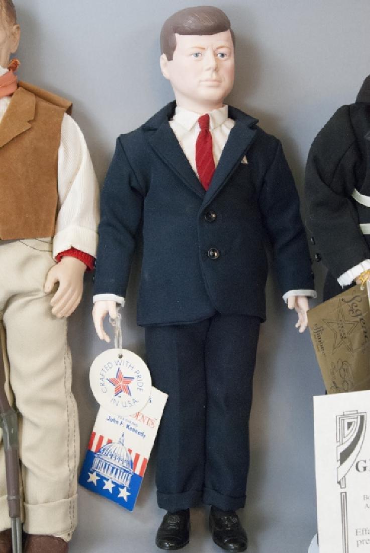 Effanbee Vintage Dolls, John Wayne, JFK, G. Burns - 2