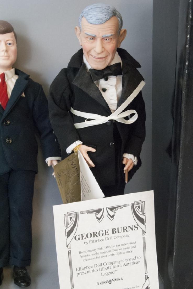 Effanbee Vintage Dolls, John Wayne, JFK, G. Burns - 3