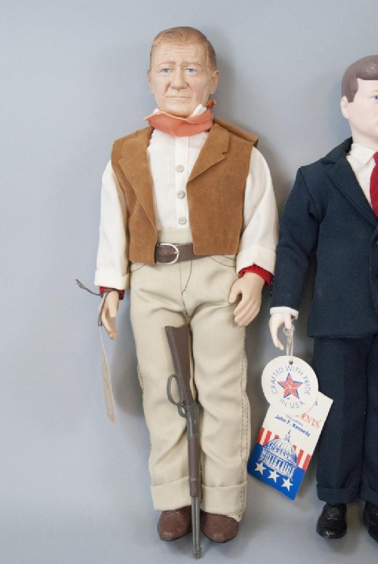 Effanbee Vintage Dolls, John Wayne, JFK, G. Burns - 8