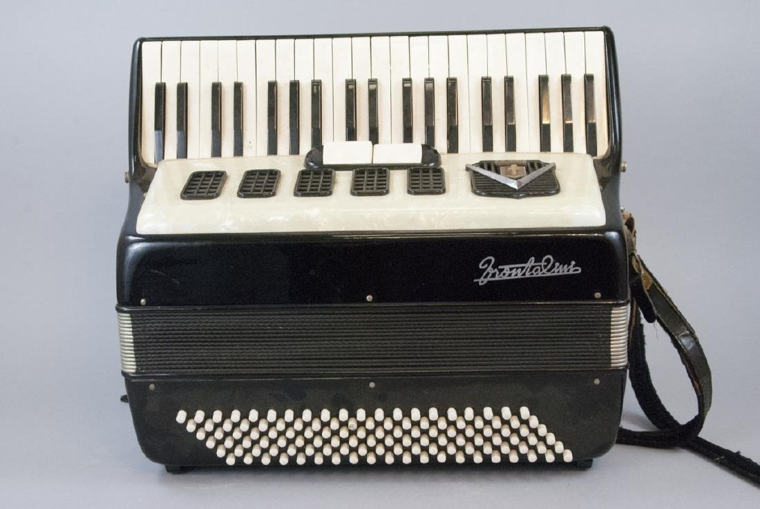 Frontalini Vintage Accordion and Case