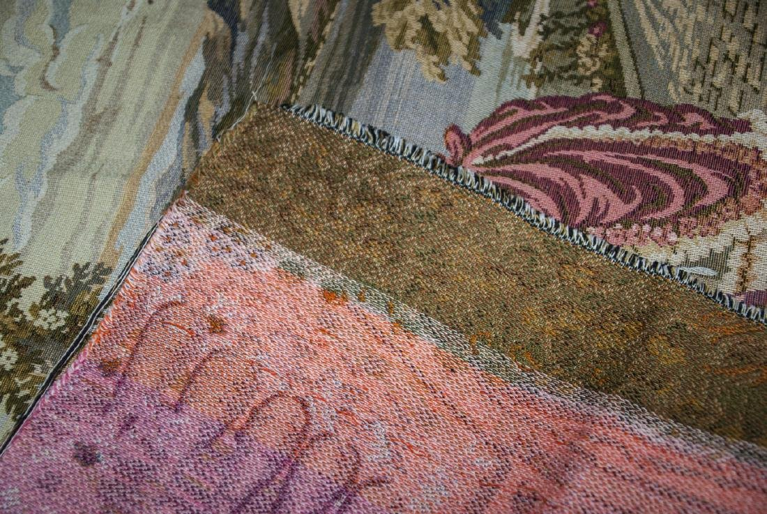 Pair Vintage Wall Hanging Tapestry Panels - 2