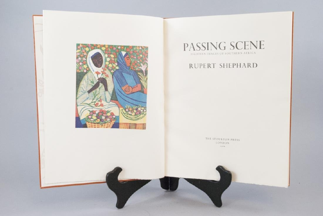 Passing Scenes Rubert Shephard Africa Book - 3