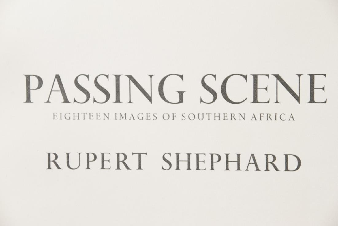 Passing Scenes Rubert Shephard Africa Book - 5