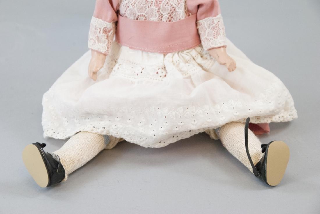 R&A Theodor Recknagel Bisque Head Doll - 2