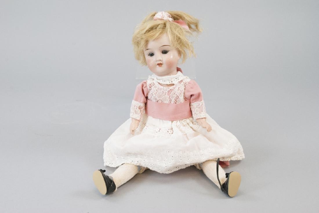 R&A Theodor Recknagel Bisque Head Doll - 5