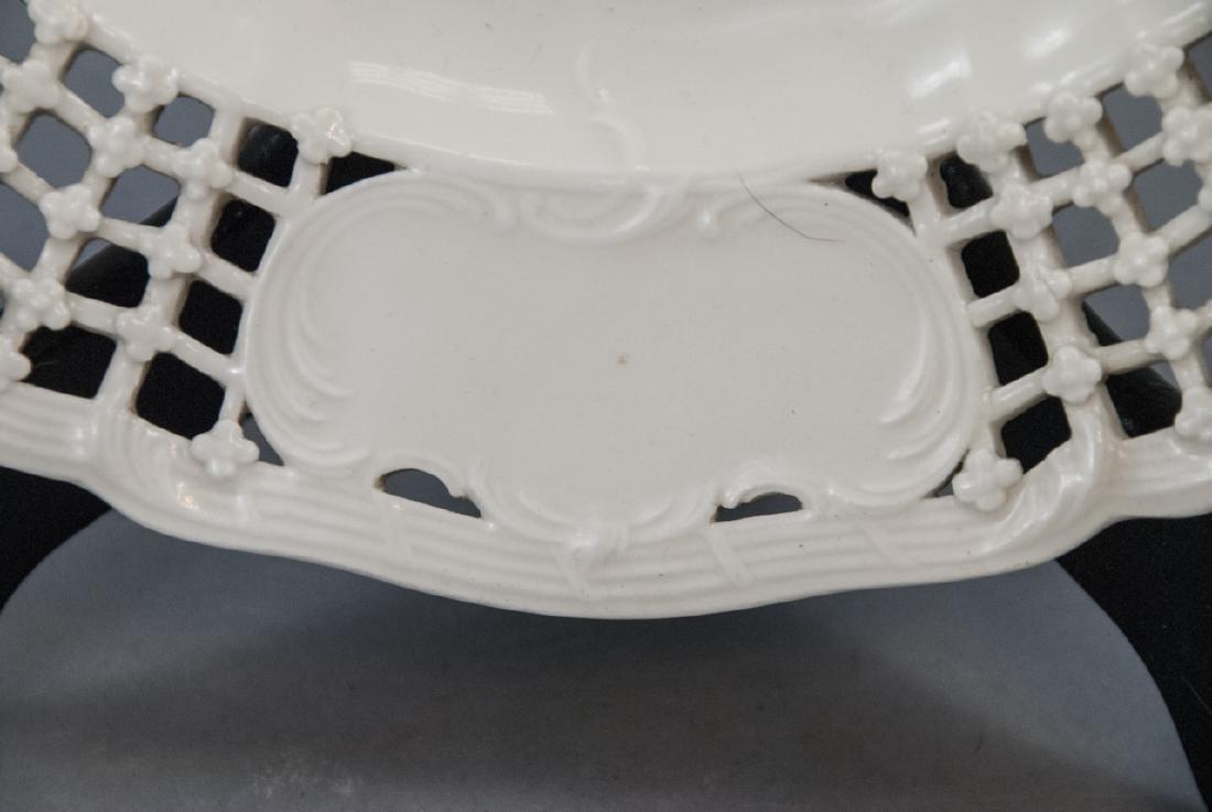 Antique 19th C KPM Porcelain Blanc de Chine Plate - 2
