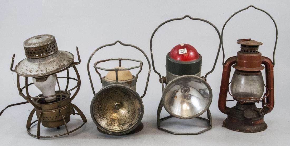 Delta, Dietz, & Dressel Railroad Lanterns