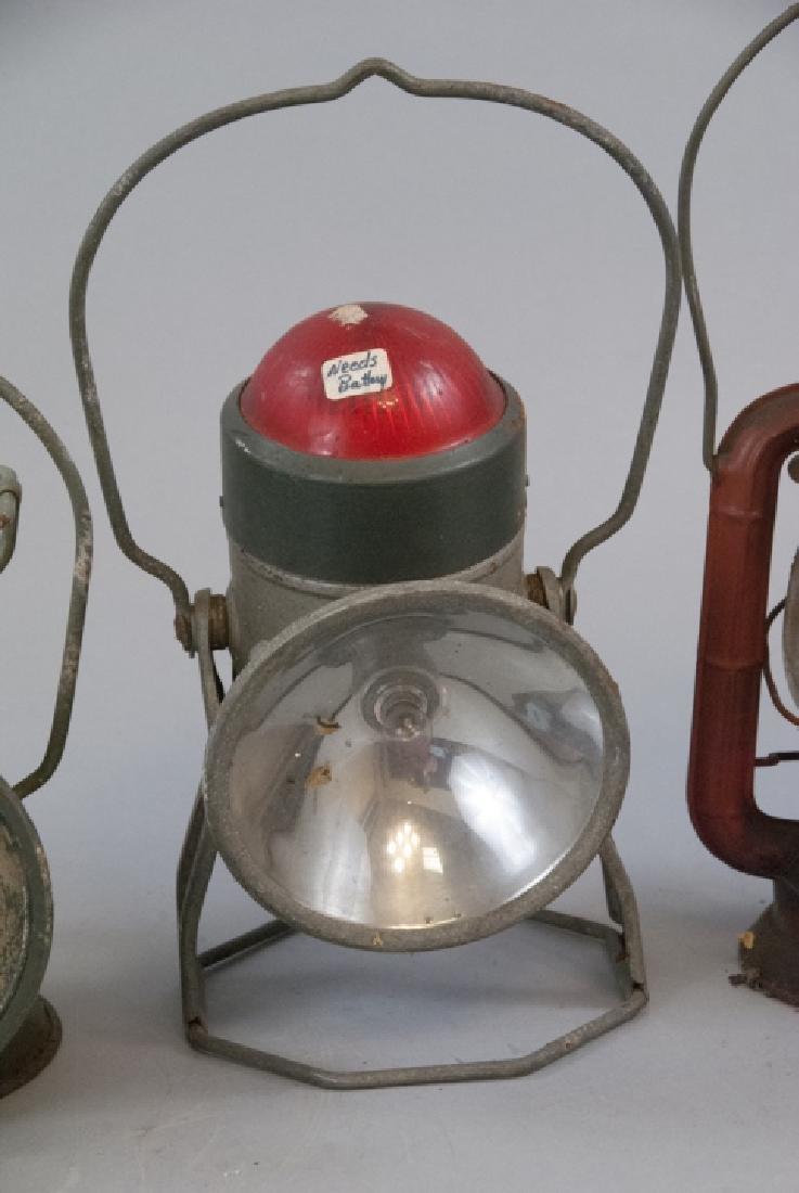Delta, Dietz, & Dressel Railroad Lanterns - 4