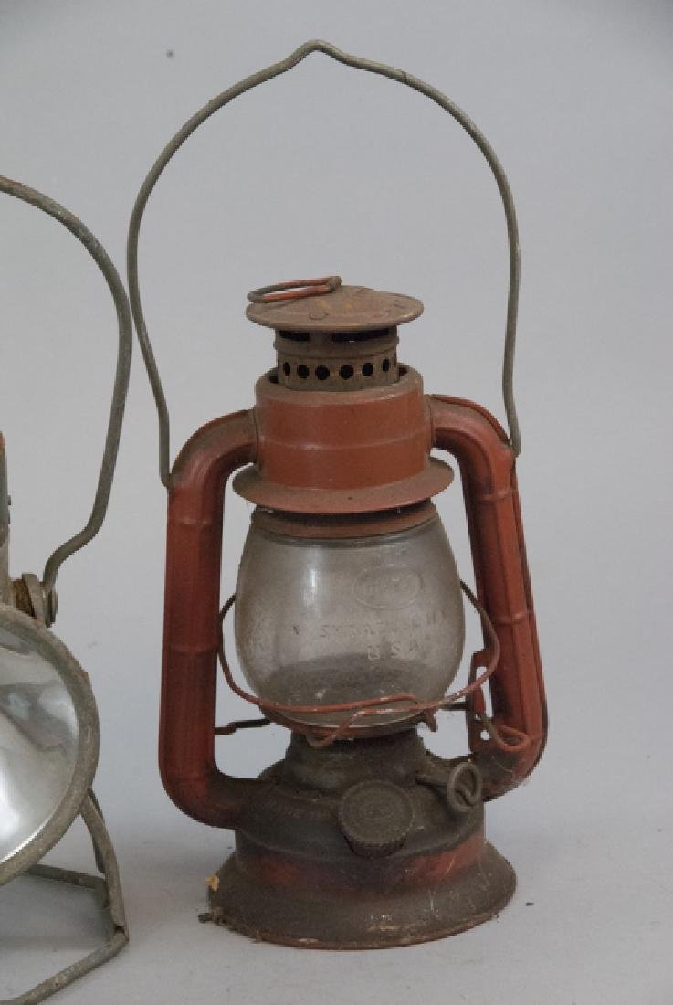 Delta, Dietz, & Dressel Railroad Lanterns - 5