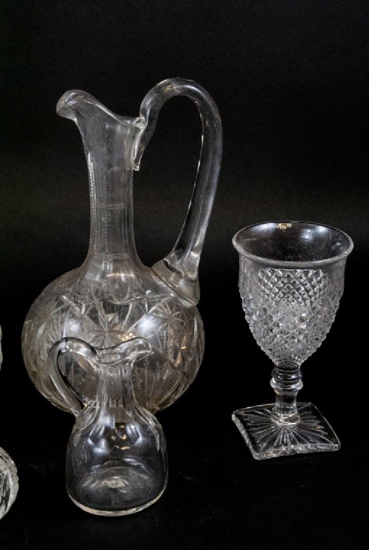 Lot Of Crystal & Cut Glass Decanters & Dispensers - 4
