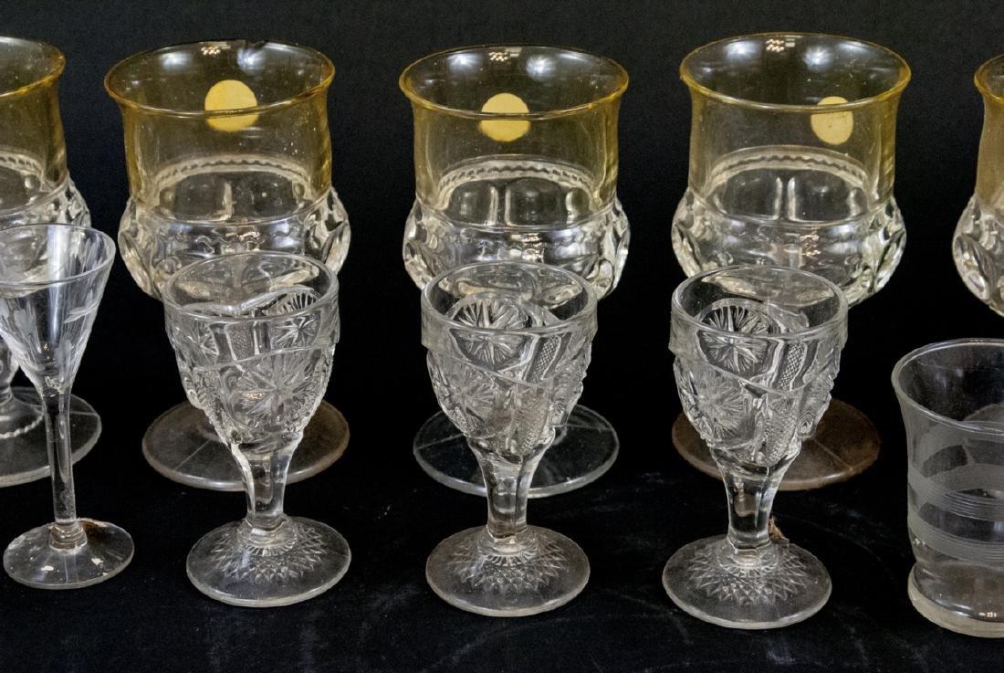 Assorted Lot Of Vintage & Antique Glasses - 3