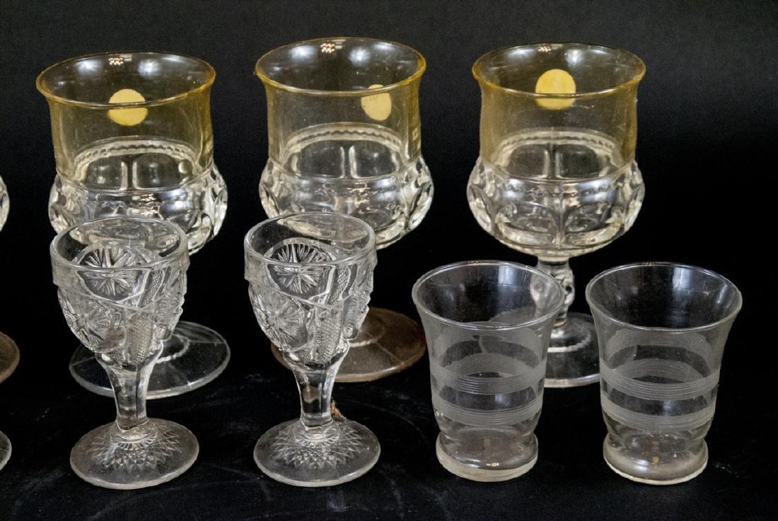 Assorted Lot Of Vintage & Antique Glasses - 4