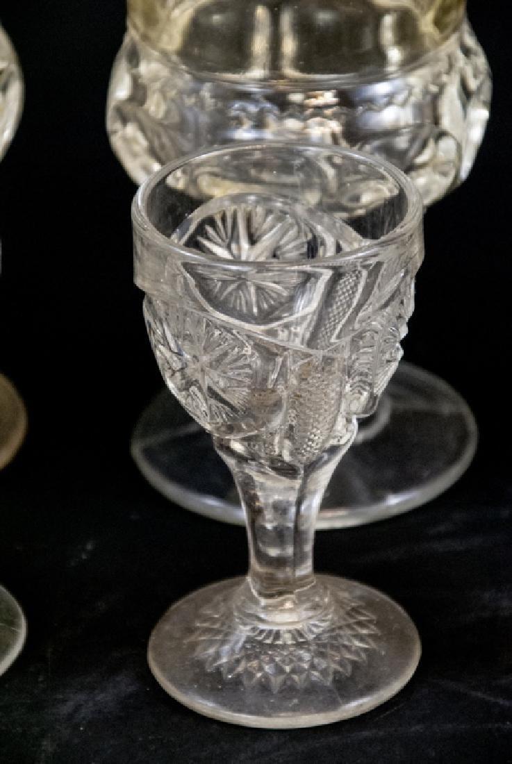 Assorted Lot Of Vintage & Antique Glasses - 5