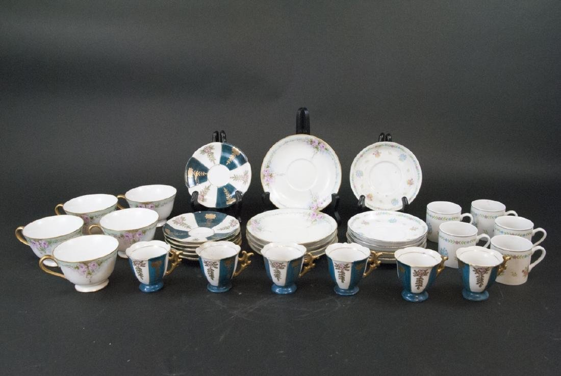 Vintage Tea Coffee Demitasse Sets Japan & China - 2
