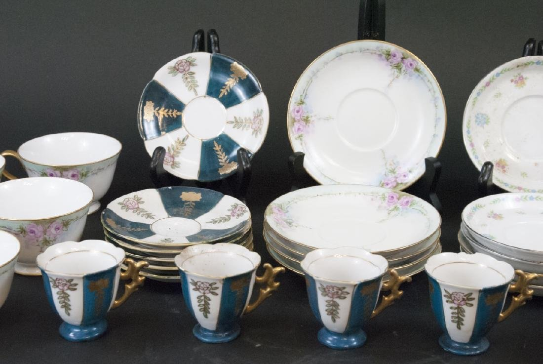 Vintage Tea Coffee Demitasse Sets Japan & China - 4