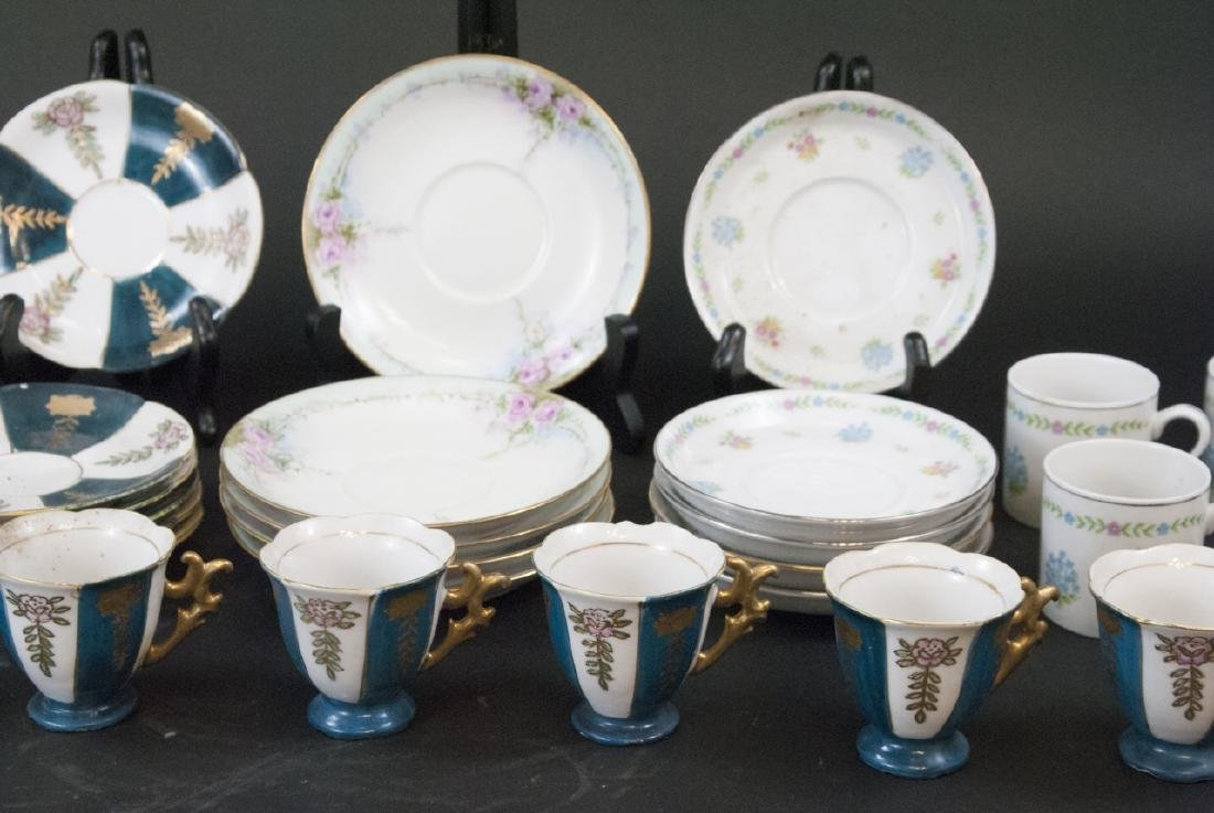 Vintage Tea Coffee Demitasse Sets Japan & China - 5