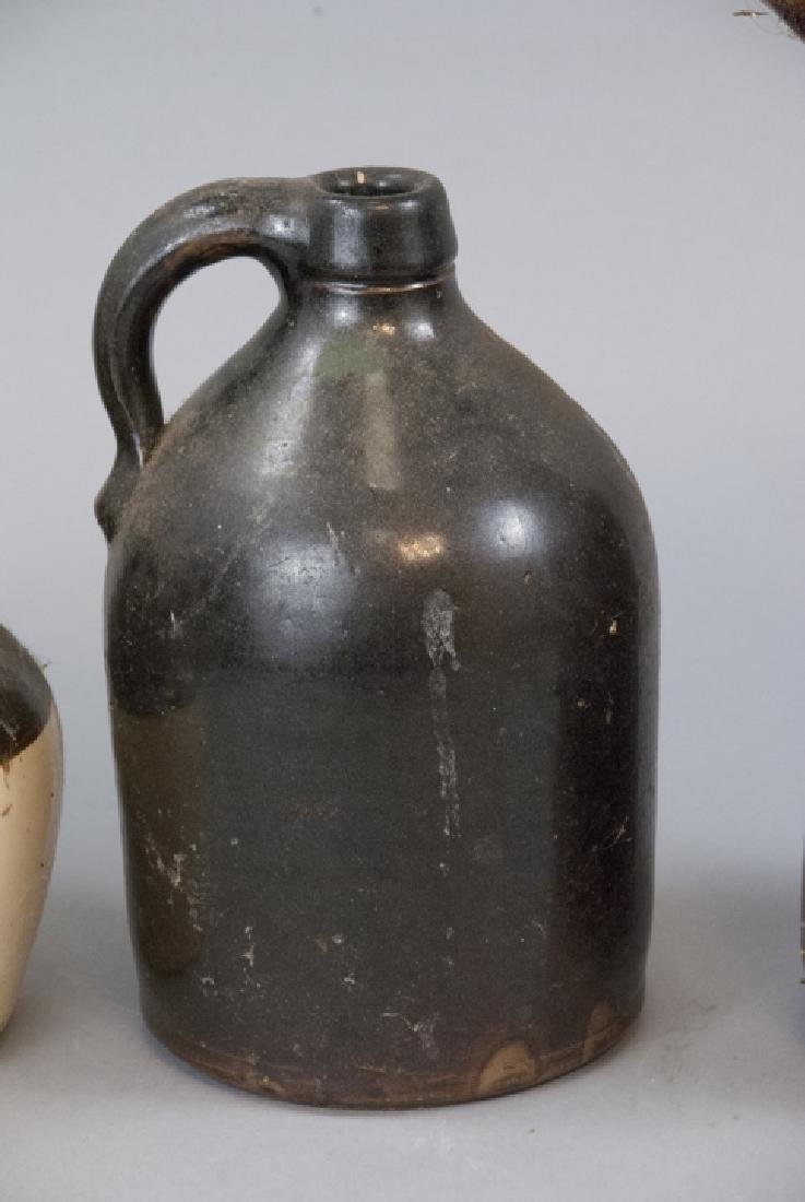 Antique Stoneware Pitchers & Containers - 2