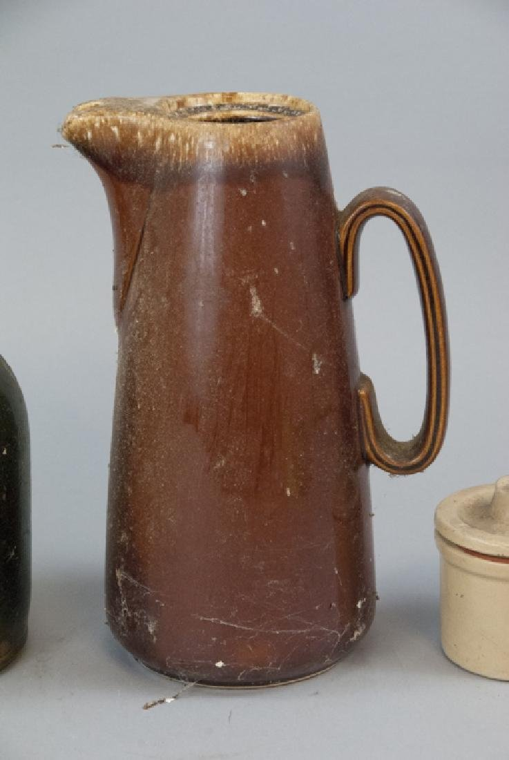 Antique Stoneware Pitchers & Containers - 3